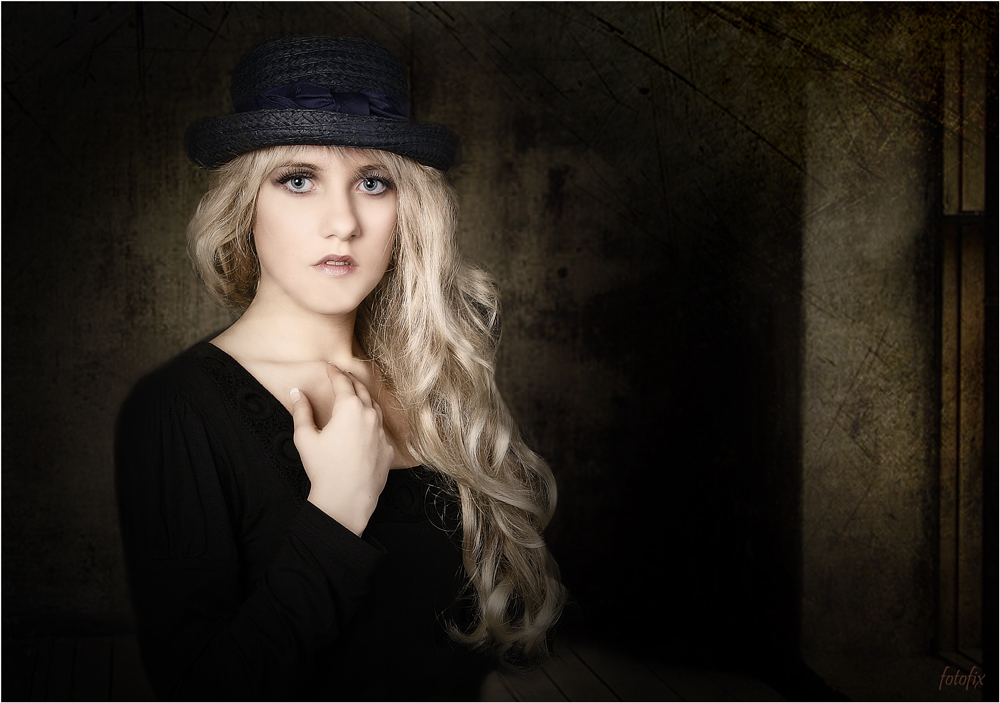 *** my blue hat ***