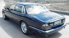 My blue Jag...