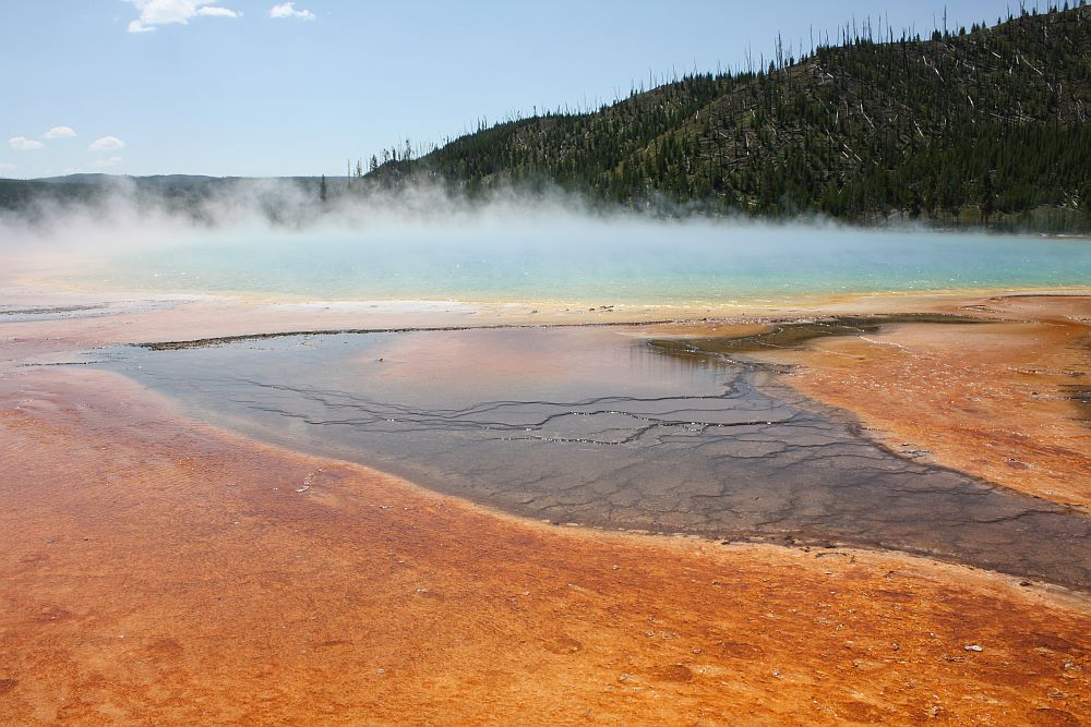 My Colors of Yellowstone 2 / Der Grand Prismatic Pool...