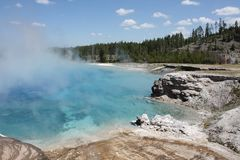 """""""My Colors of Yellowstone"""" - Excelsior Geyser -"""