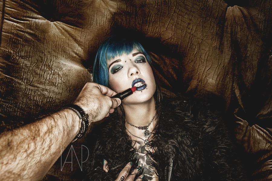 My dirrrty Lipstick - ©2014 Jan Pollack