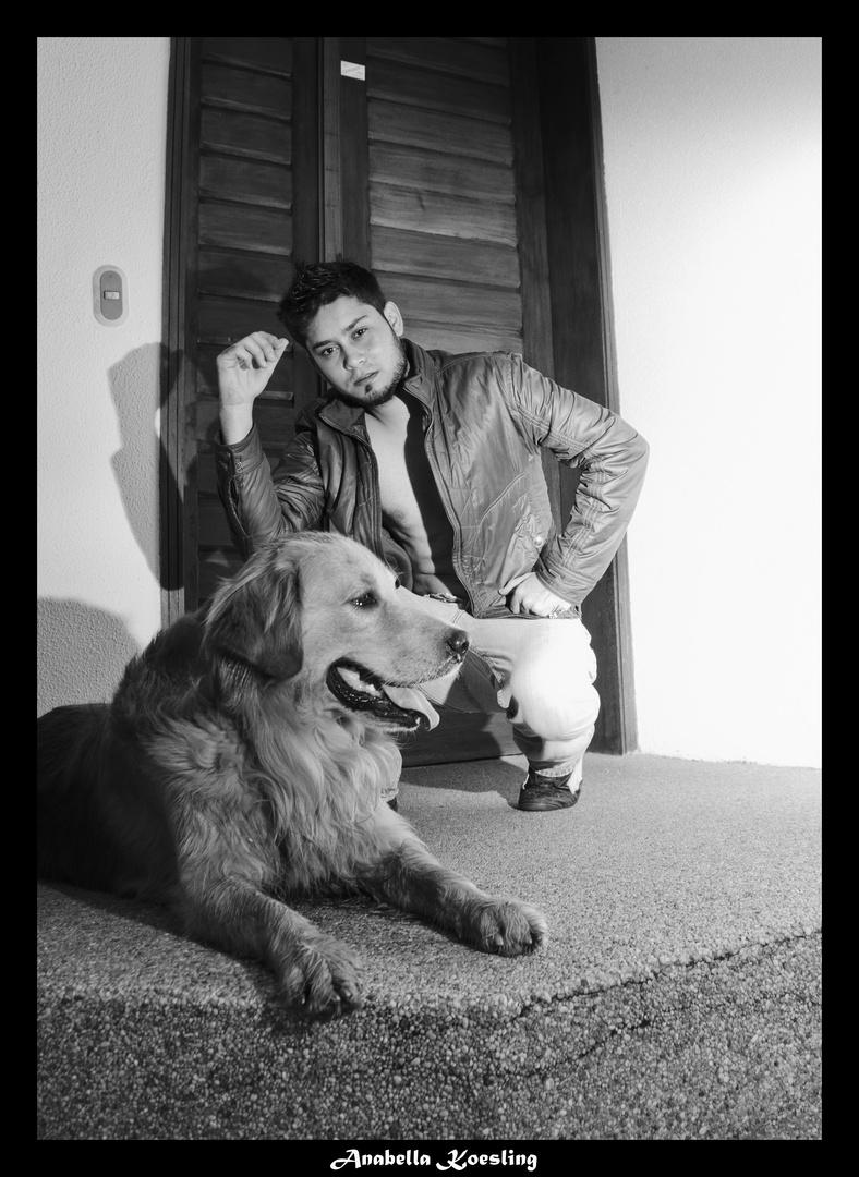 my dog and wilian