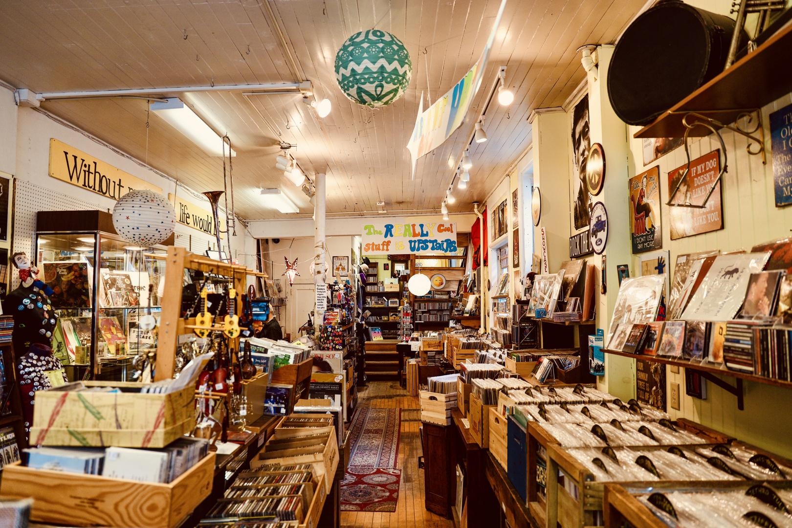 My favorite record store (Stockbridge Massachusetts)