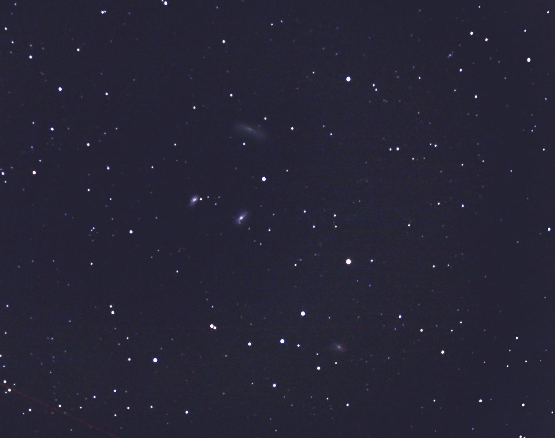 My first Leo Triplett (M65, M66 und NGC 3628)