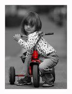 """my first red """"Ferrari"""""""