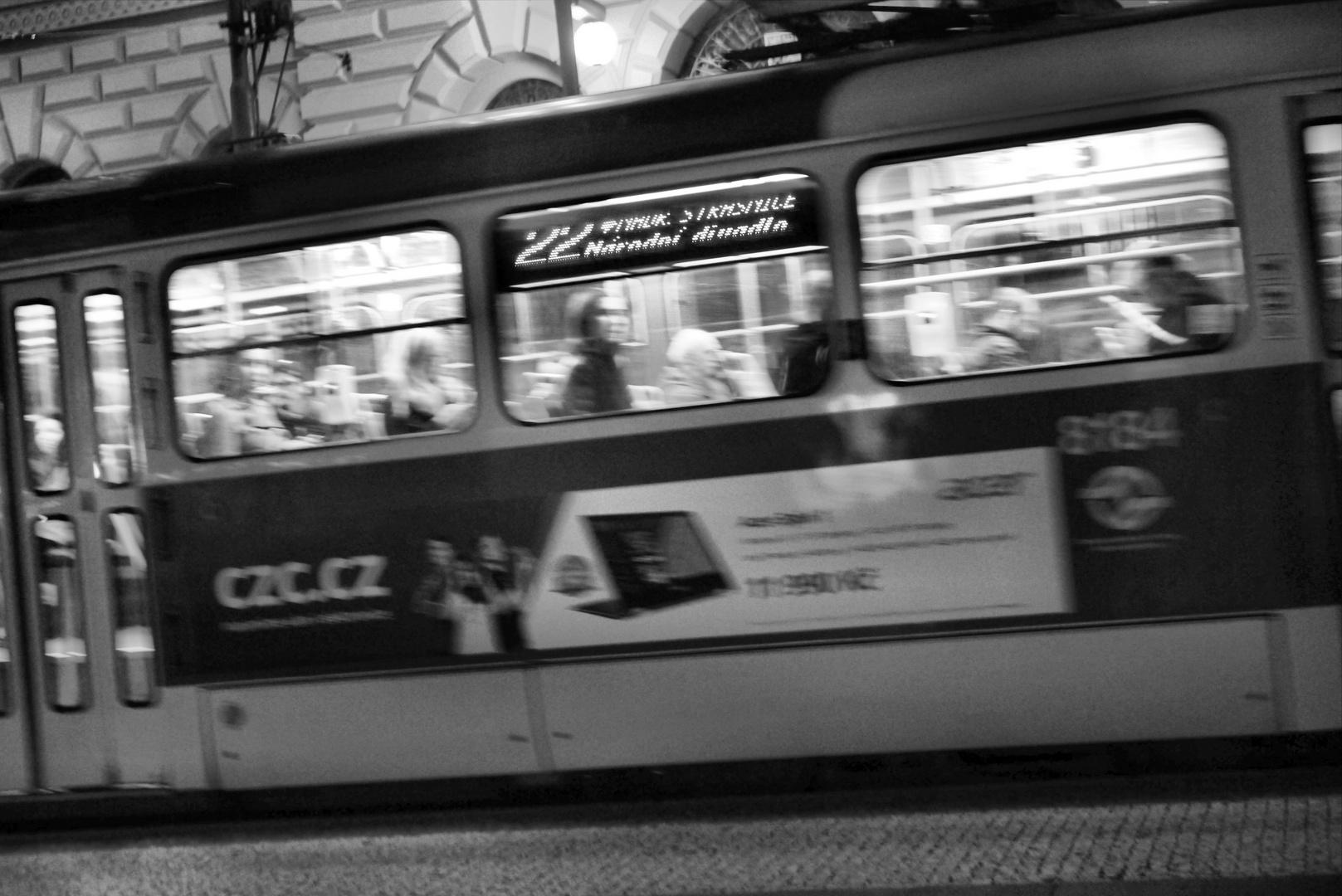 My Hometown @Night - Tram 22