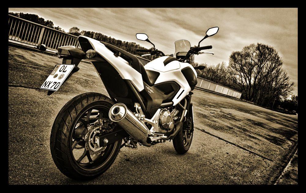my new baby ~ Honda NC 700 X