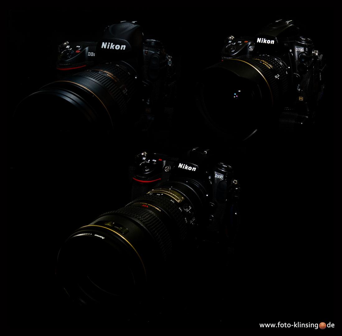 my Nikon's