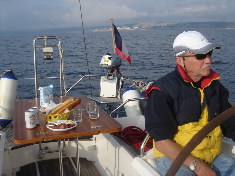 My sailing trip