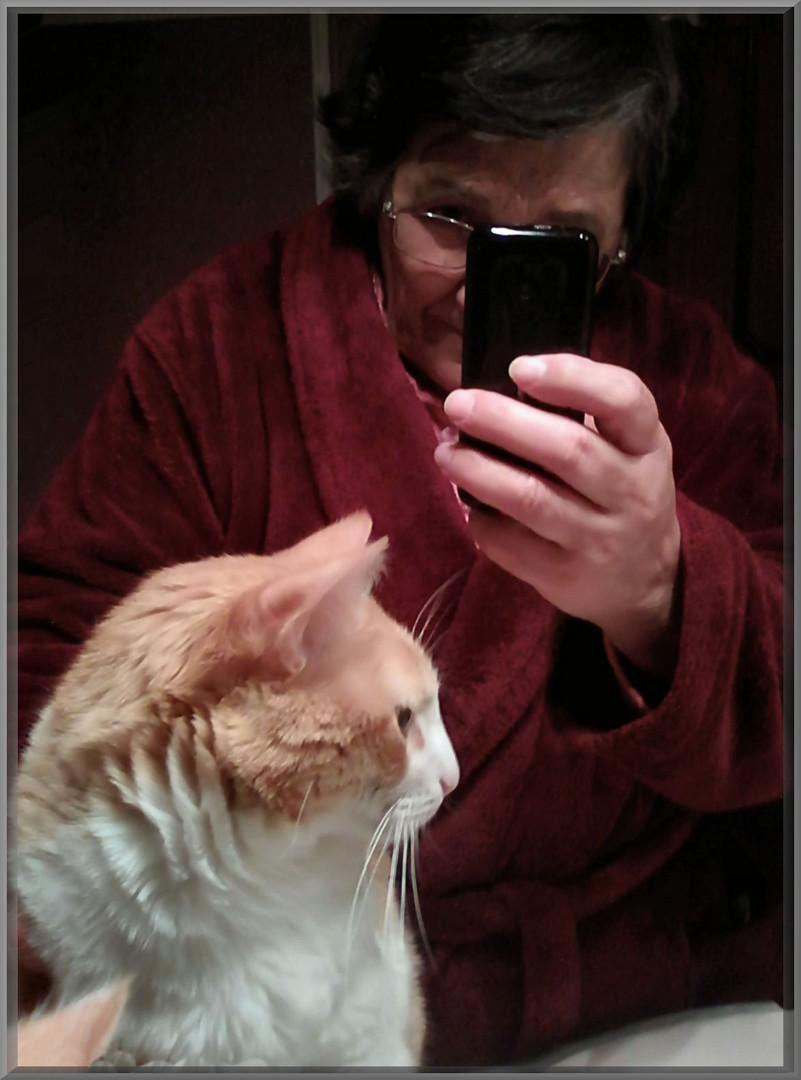 My selfie with Vitoria.