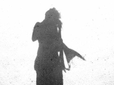 My shadow . . .