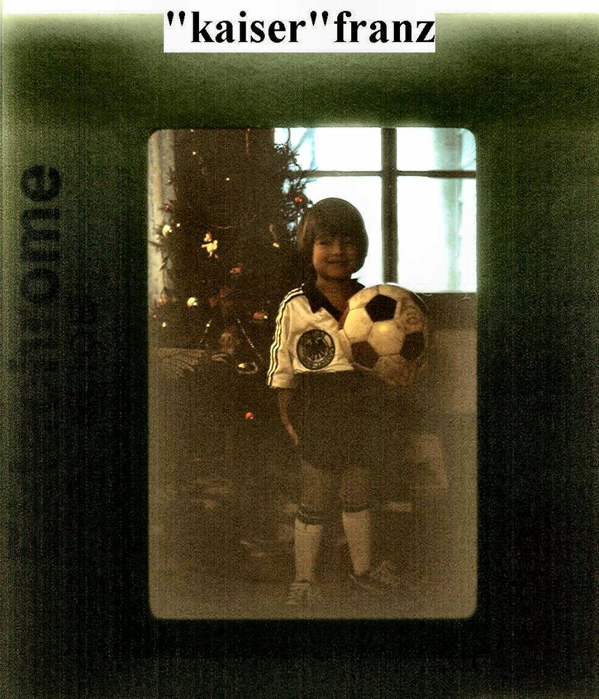 My son Franz at ca 8 (in 83)