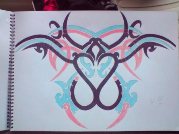 My tribal Backpiece