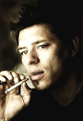 my work behind ... the smoker