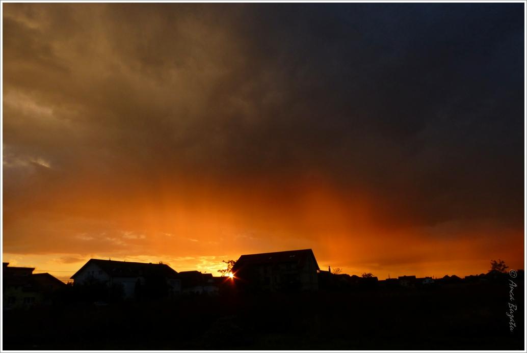 My yesterday's sunset