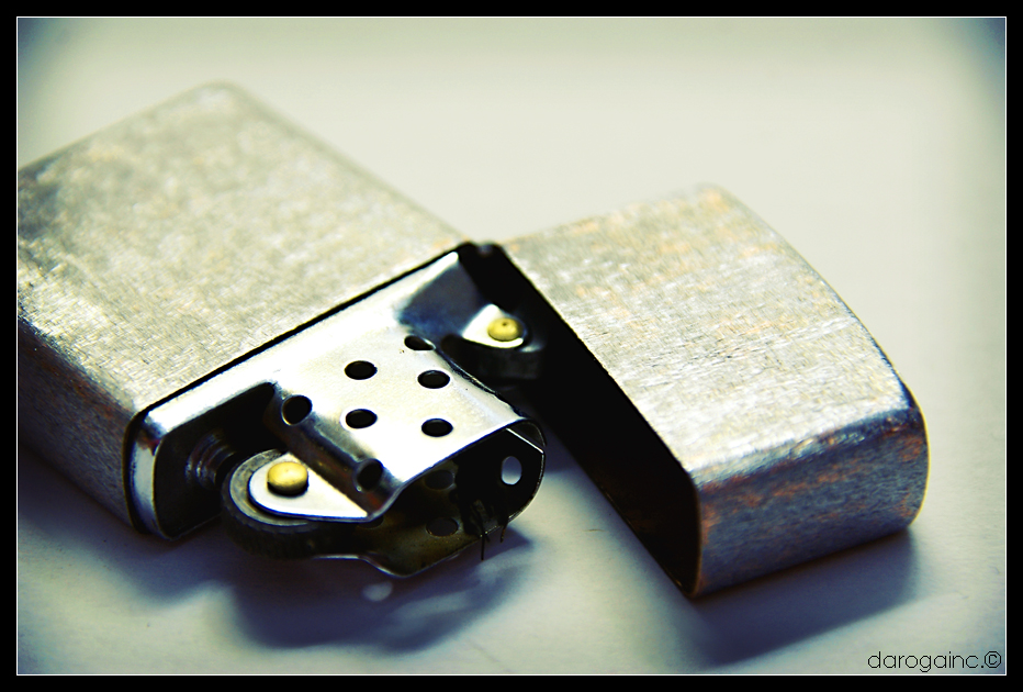 My Zippo and I... what else?