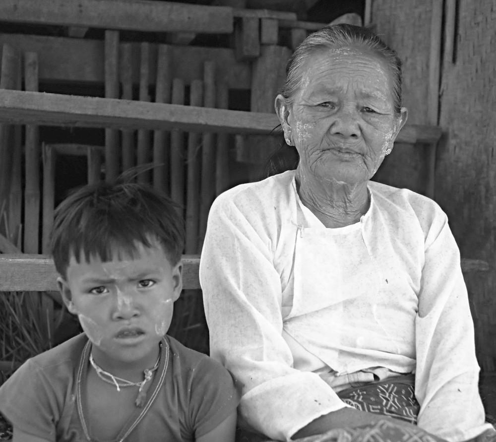 Myanmar Bäuerin