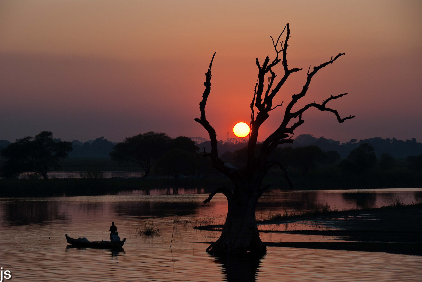 Myanmar Sonnenuntergang