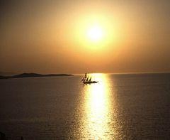 Mykonos - - - einer von vielen Sonnenuntergängen