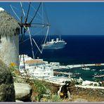 Mykonos - MS Navarino Karageorgis Line 07.1978 ©