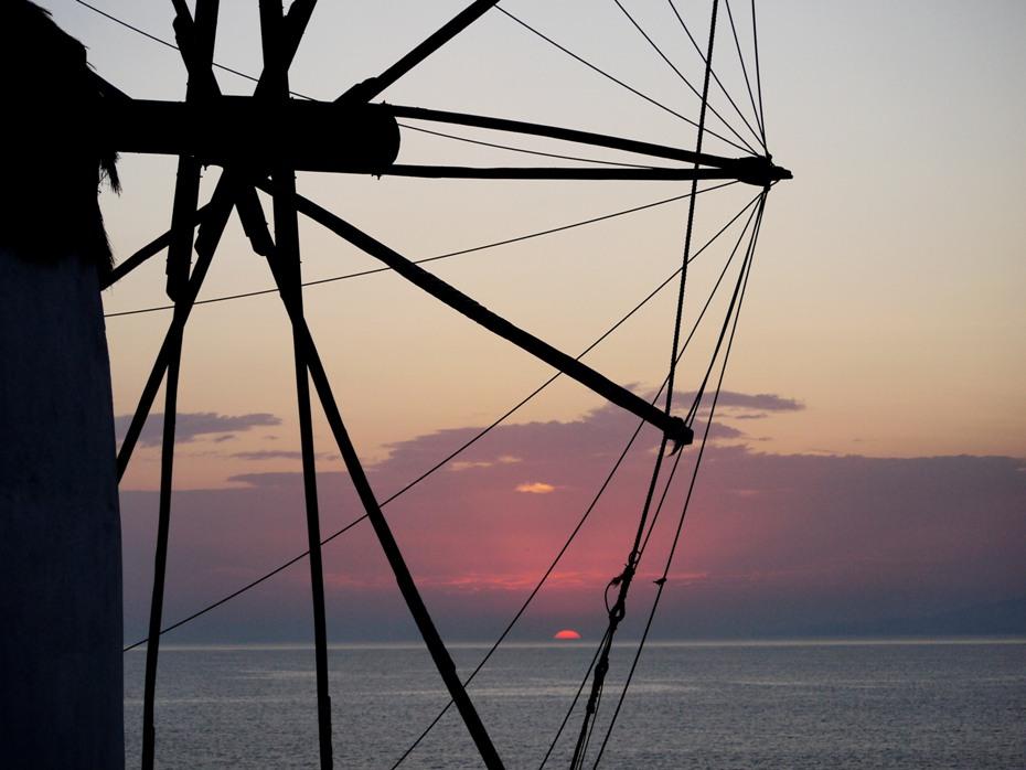 Mykonos windmills 2