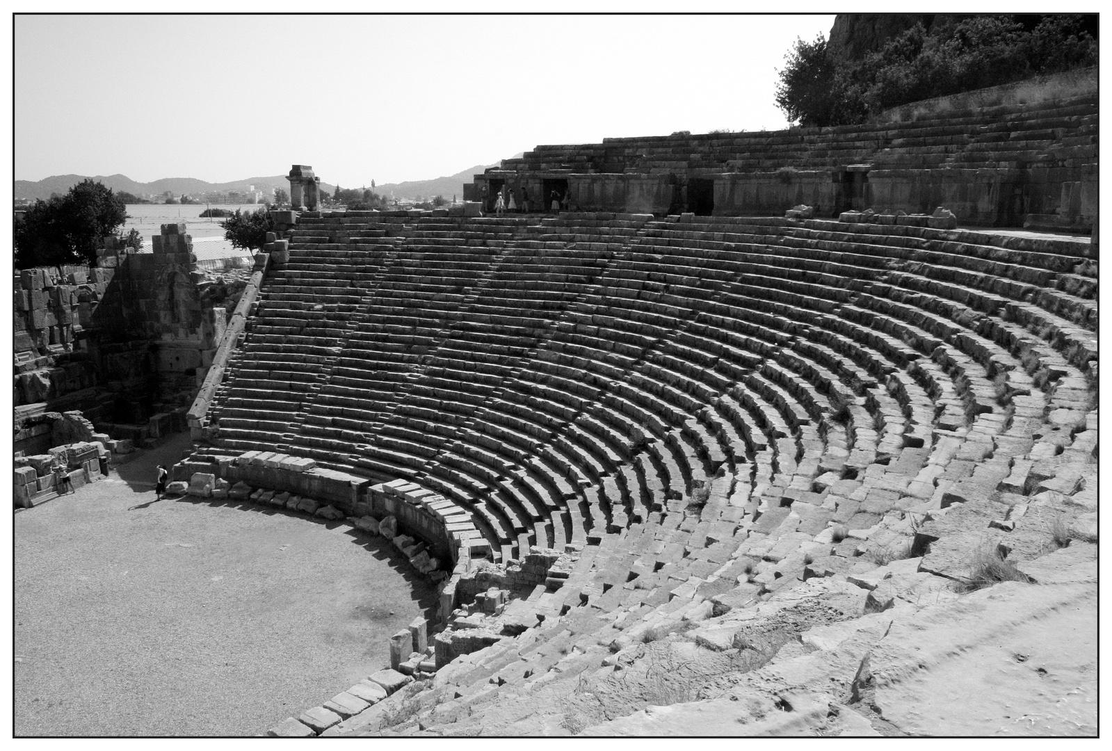 Myra / Türkei, Römisches Amphitheater