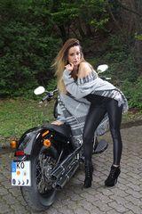 Myrel on Bike 3