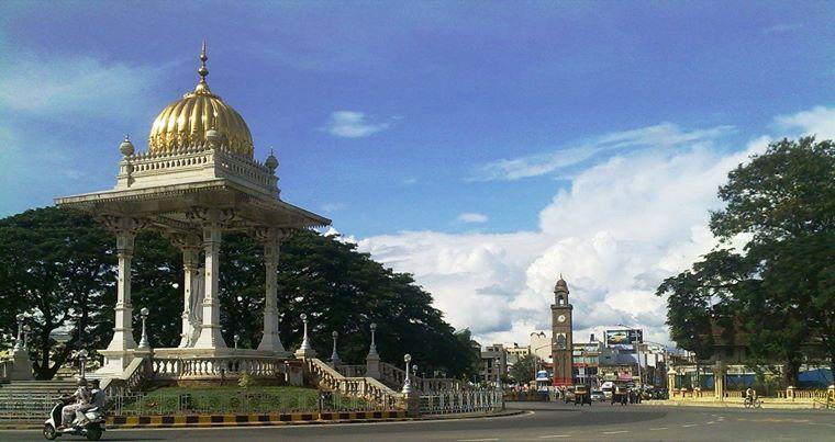 Mysore, Center of city