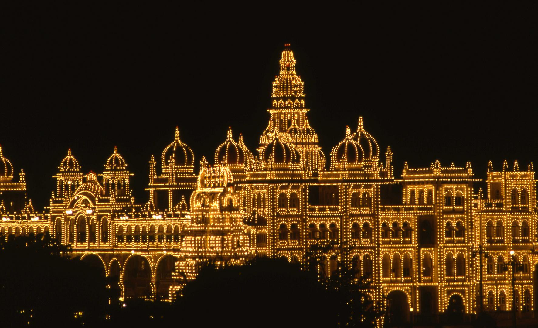 mysore palazzo del maharaja