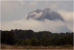 mystic Es Vedra in the clouds