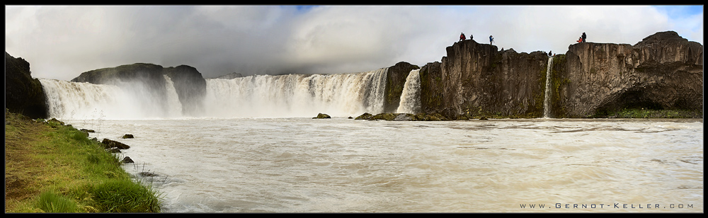 Mystical Iceland - Godafoss Pano