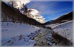 mystisches Wolkenspiel über Prettau