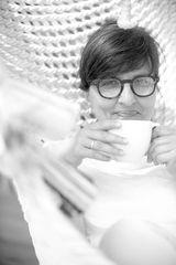 ´n Kaffee und ein Lächeln