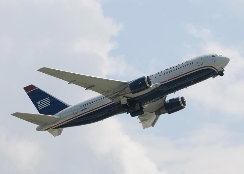 N248AY - US Airways Boeing 767-201(ER)