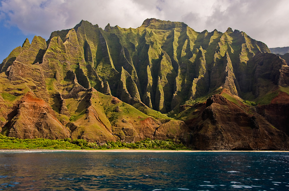 Na Pali Coast - End of Kalalau Trail