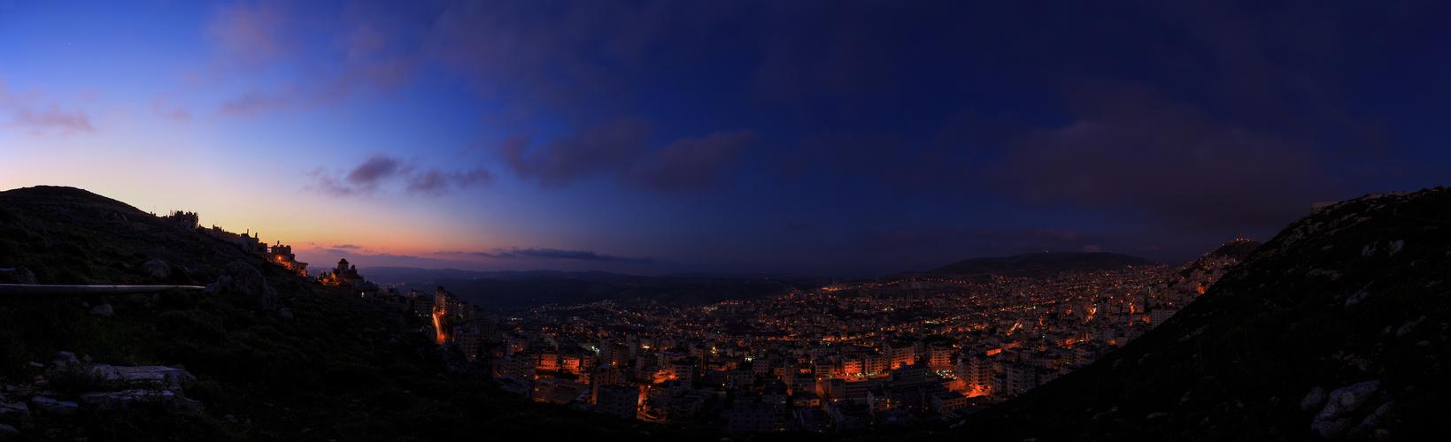 Nablus at Night