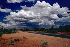 Nach Alice Springs ...km