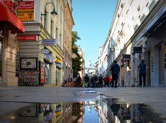 Nach dem Regen in Sarajewo
