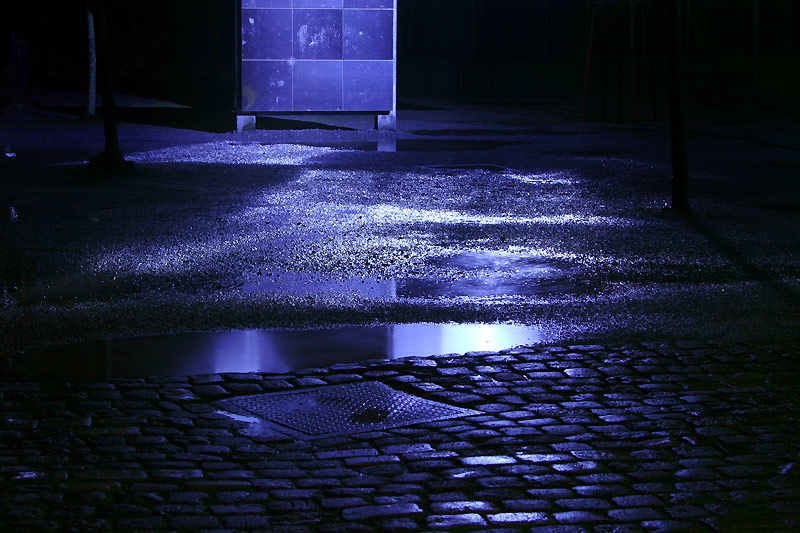 Nach dem Regen ... version in blau