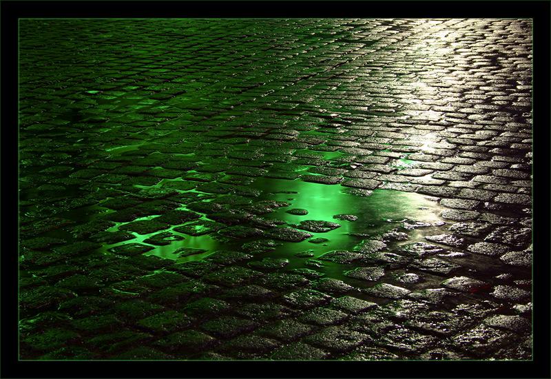 Nach dem Regen ... version in grün
