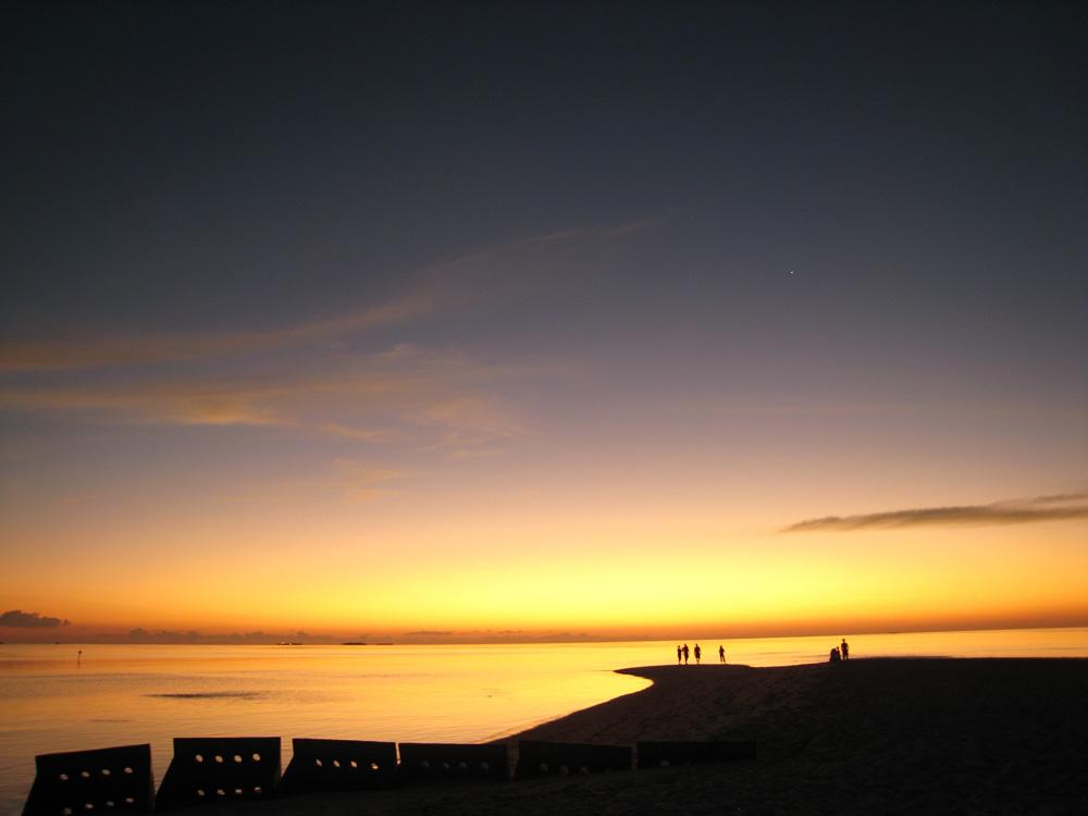 Nach dem Sonnenuntergang (Malediven)