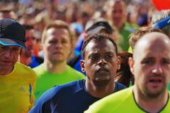 nach dem Start - Gutenberg Marathon 2015