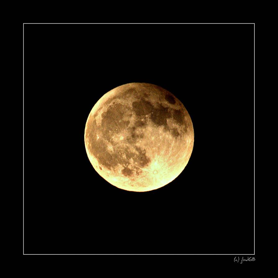 Nach der Mondfinsternis