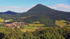Nach der Ostrybesteigung gestern früh im Böhmischen Mittelgebirge, der....