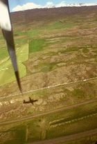 Nach einem gelungenen Flug über das Hochland..