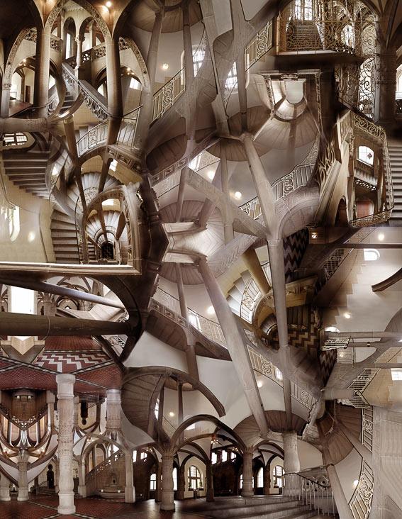 Nach Eschers Zeichnungen... von Anna Güntner