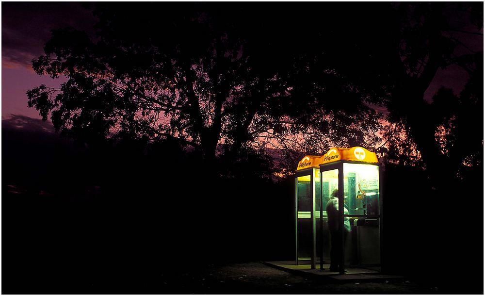 Nach Hause telefonieren