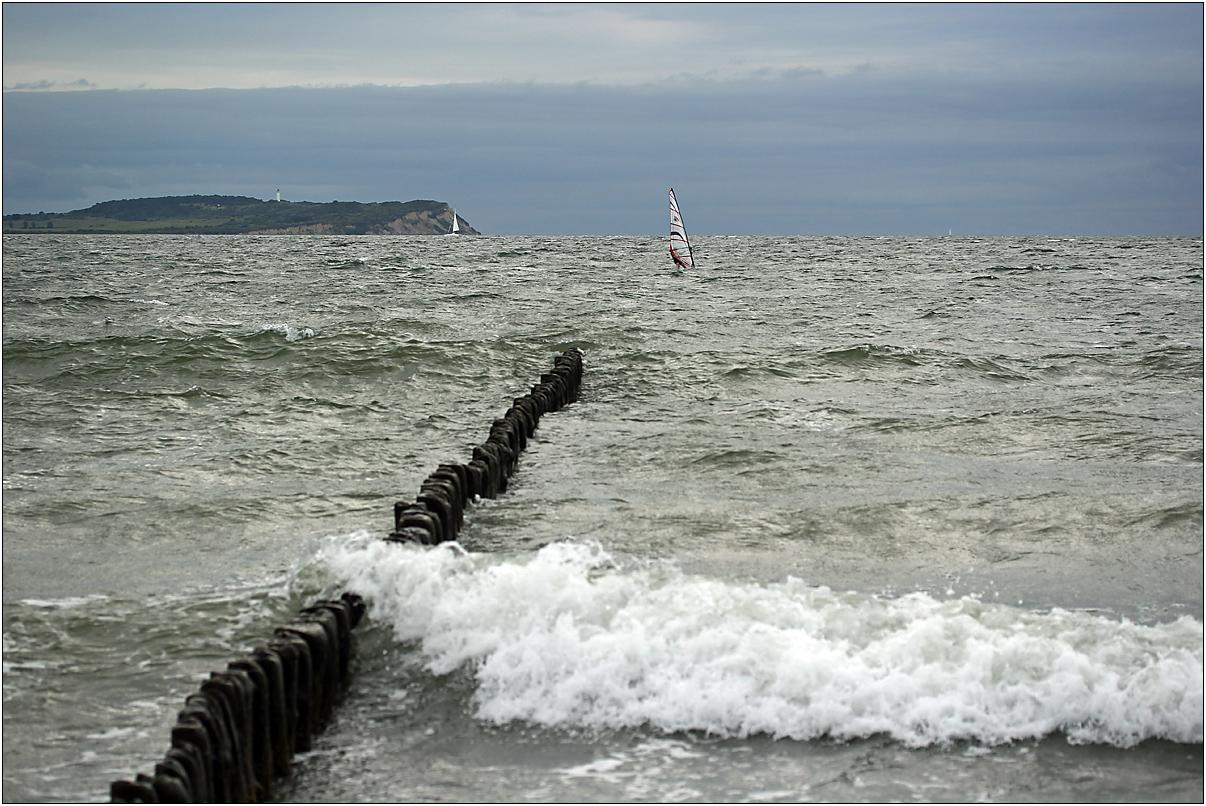 Nach Hiddensee surfen...