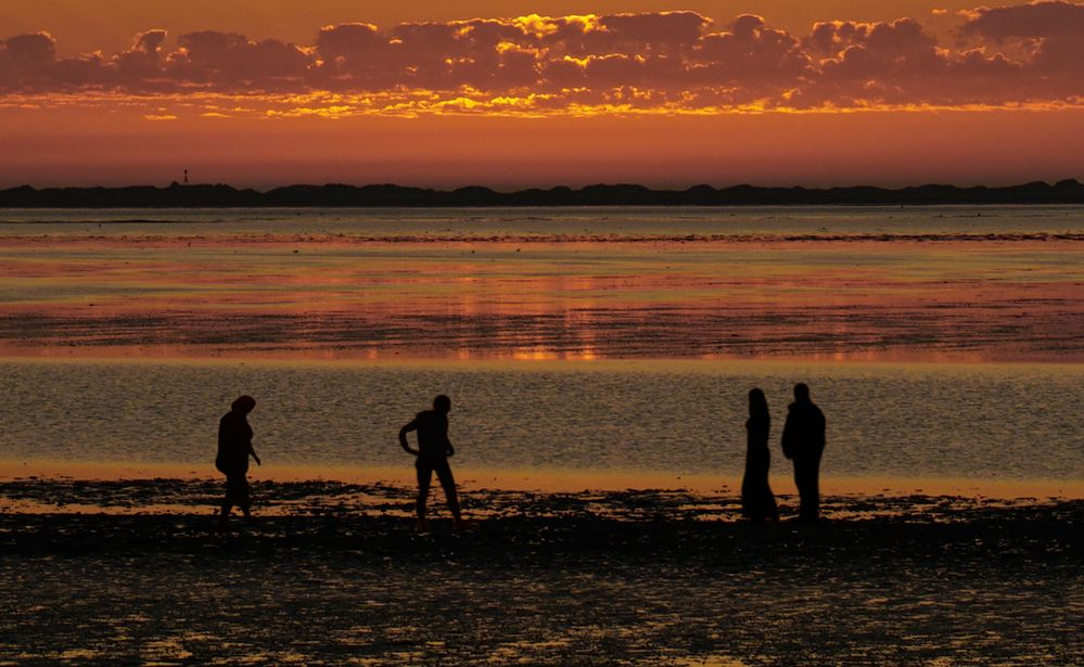Nach Sonnenuntergang