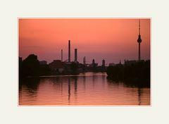 Nach Sonnenuntergang, Berlin Mitte